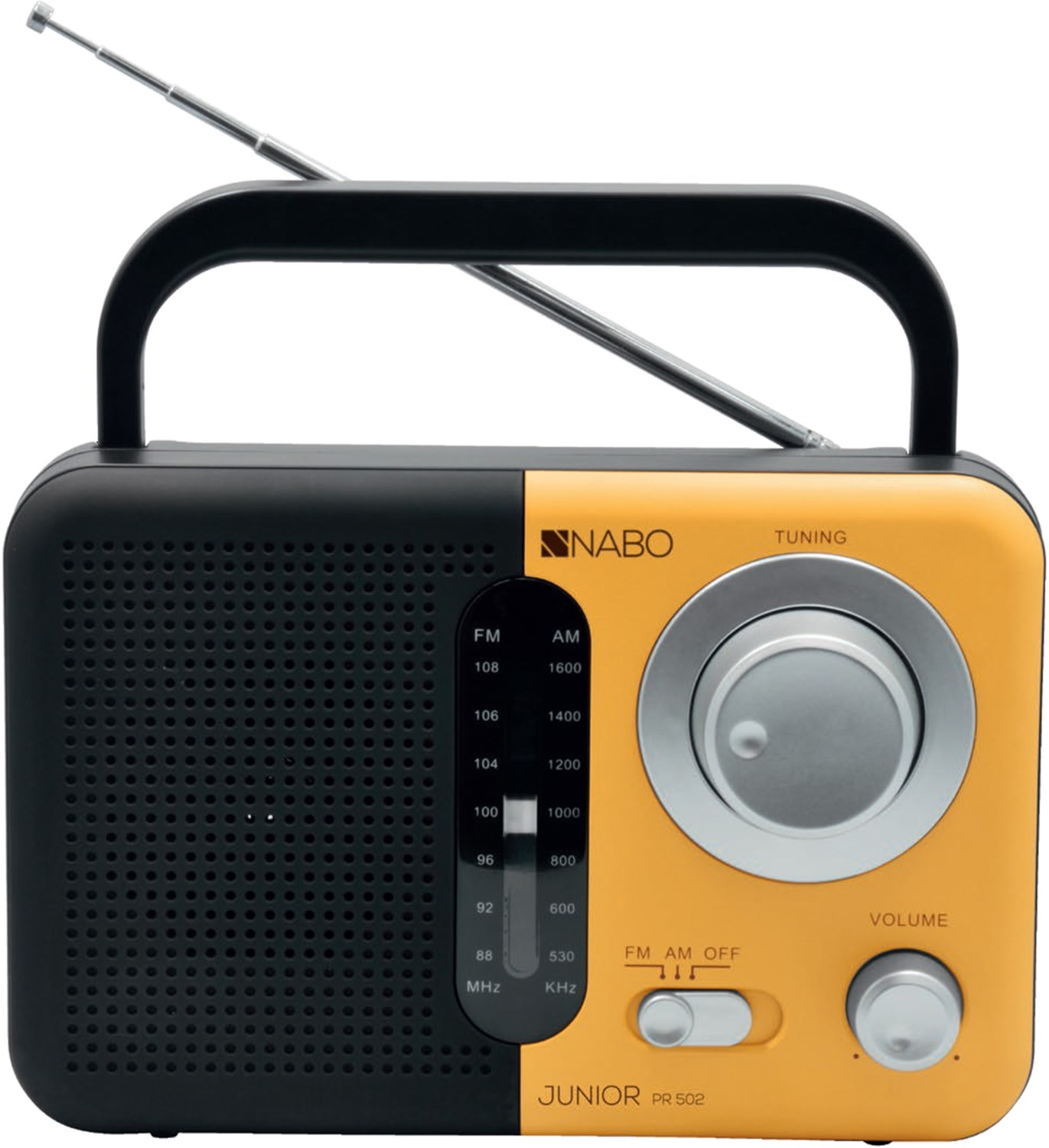 NABO JUNIOR PR 501 schwarz-orange Produktbild