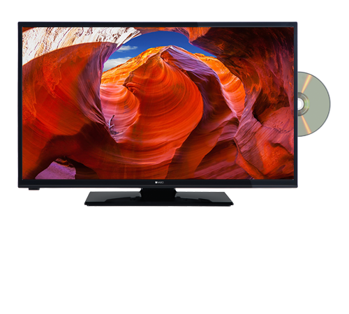 NABO LED TV mit integriertem DVD-Player